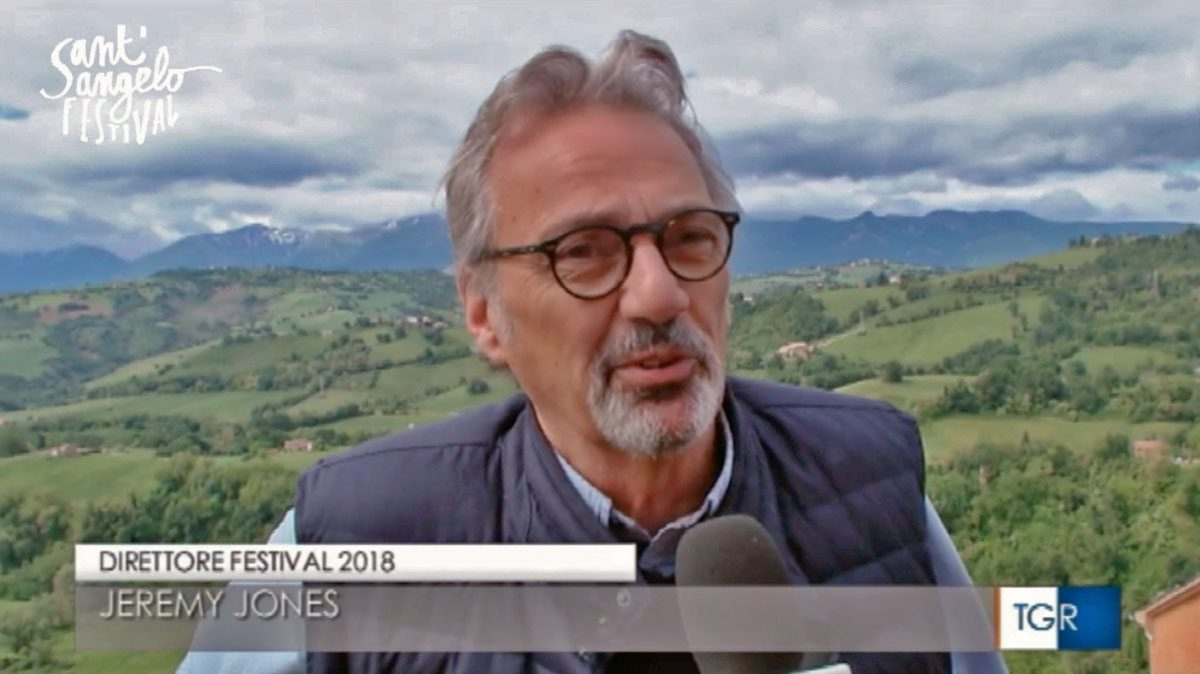 Jeremy Jones direttore Sant'Angelo Festival